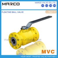 Hot sale competitive price manual lever operation small size floating type ball float valve with long handle