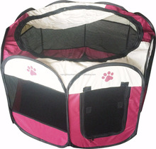 "Hot Selling 36""X36""X23"" Foldable Pet Tent for Camping,CZ-011 Pet Playpen 8 Panel Camping Puppy Dog House Pet Tent,Pet Playpen"