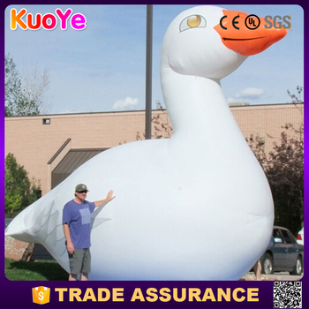 cheap advertising inflatable goose for display
