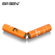 Basen orange cell 2700mah 45A lithium ion bling battery 3.7v 18650 ecig interchangeable battery