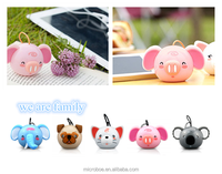 Toy Mini Portable Speakers Cartoon Gift for Christmas Promotion