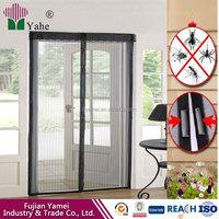 Polyester Mosquito Net DIY Mesh Magnetic Magic Screen Door
