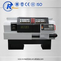 CKA6150i horizontal small flat bed cnc lathe with fanuc controller