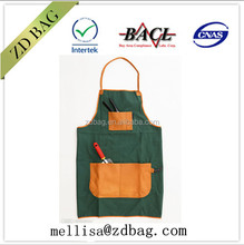 high quality eco-friendly 100% cotton/canvas heavy bbq apron customized