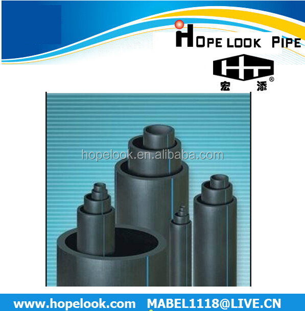 China suppliers plastic pipe fittings mm hdpe pe