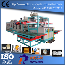 automatic ps foam thermoforming machine disposable clamshell take-out containers making machinery
