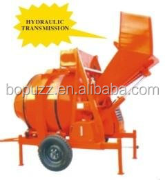 hydraulic transmission concrete mixer machine/cement concrete mixer