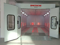 2017 SM-260 Water Solution Spray Paint Booth/baking Oven CE Approved wuth low price