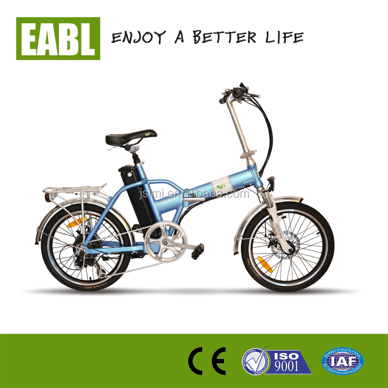 2016 new Baogl electric folding mountain bike green power e bicycle