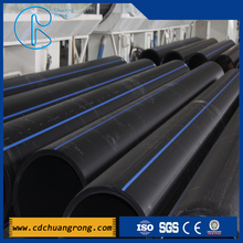 Black Pipe Roll Large Plastic Drain Pipe