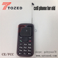 Tozed wholesale high quality large button cell phones for seniors