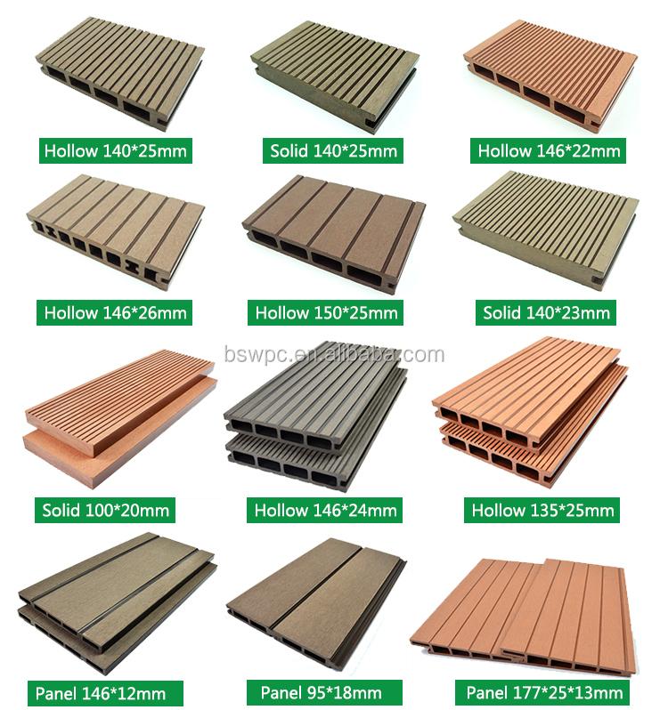 Deck Board Sizes ~ European style wpc decking board composite deck floor