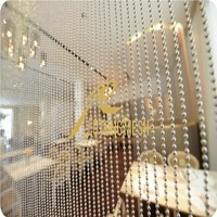 metal ball chains modern curtains