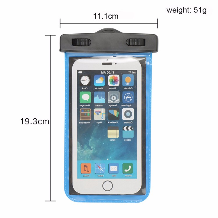 Universal Smartphone Bicycle Waterproof Case Holster Pouch Bike Phone Mount Holder