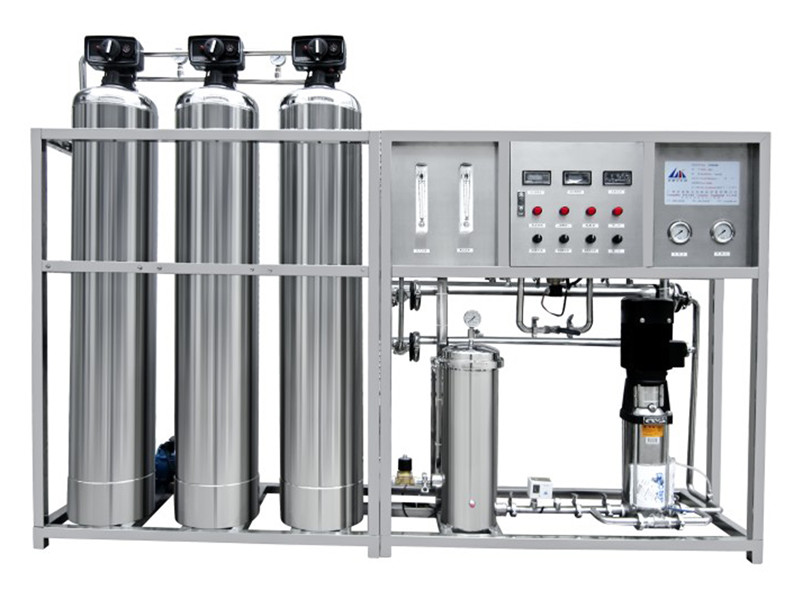 FRO 500 - 3000LPH salt water treatment plant