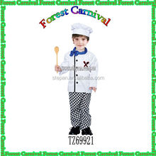 TZ69921 Children Chef Cosplay Costume, Party Costume