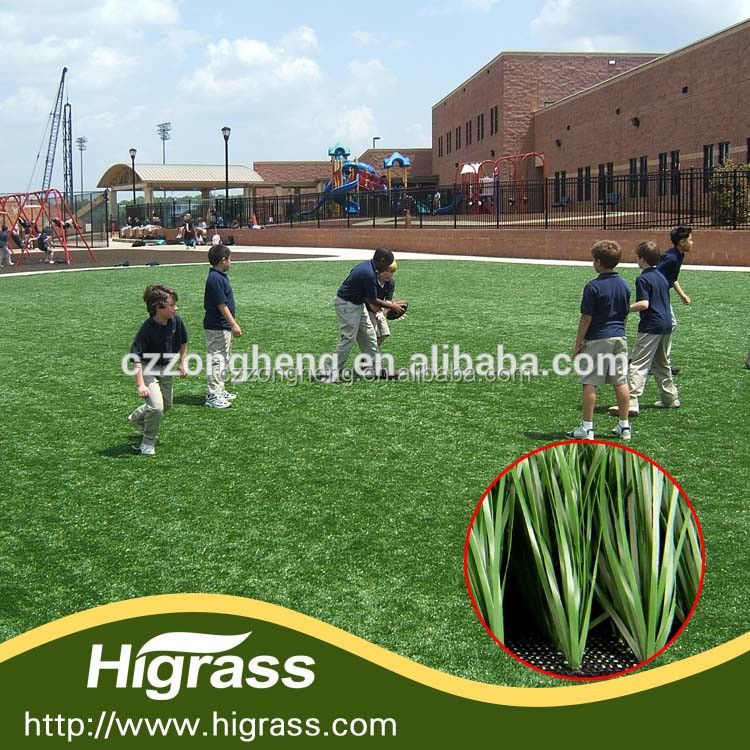2015 HIGRASS star product high-grade well received synthetic grass for football