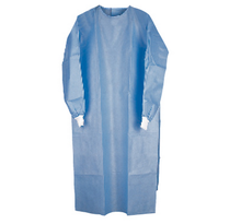 Sterile SMS dark blue surgical gown