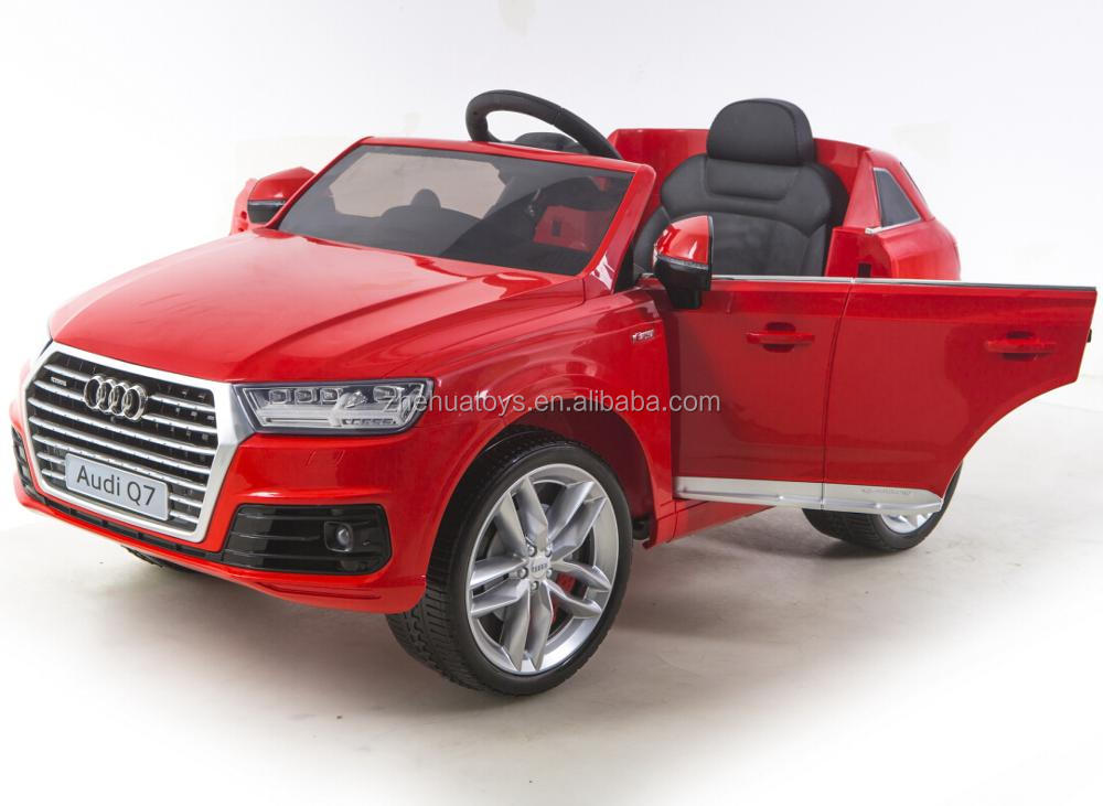 12v battery operated toy car kids licensed ride on car Audi Q7