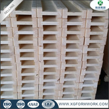 Timber type H20 wooden I Beam for construction/woodne beam for Formwork