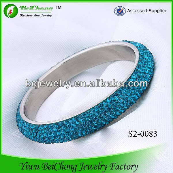 2014 China Factory Women's Diamonds fashion jewelry,make rubber band bracelet