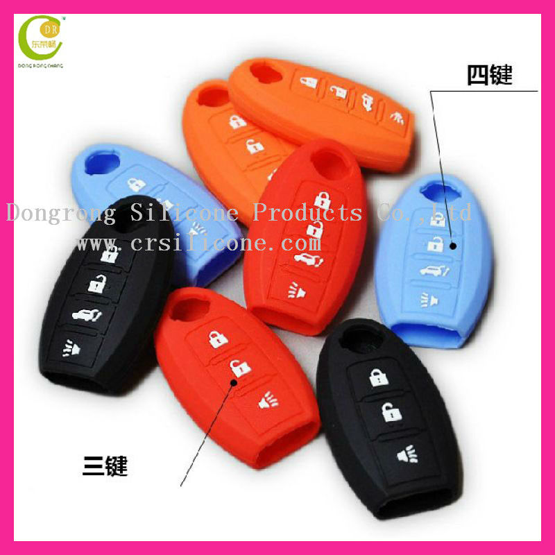 New style 2 buttons remote case for nissan remote key case replacement key blank car key blank for nissan