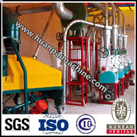 Corn grits mill machine