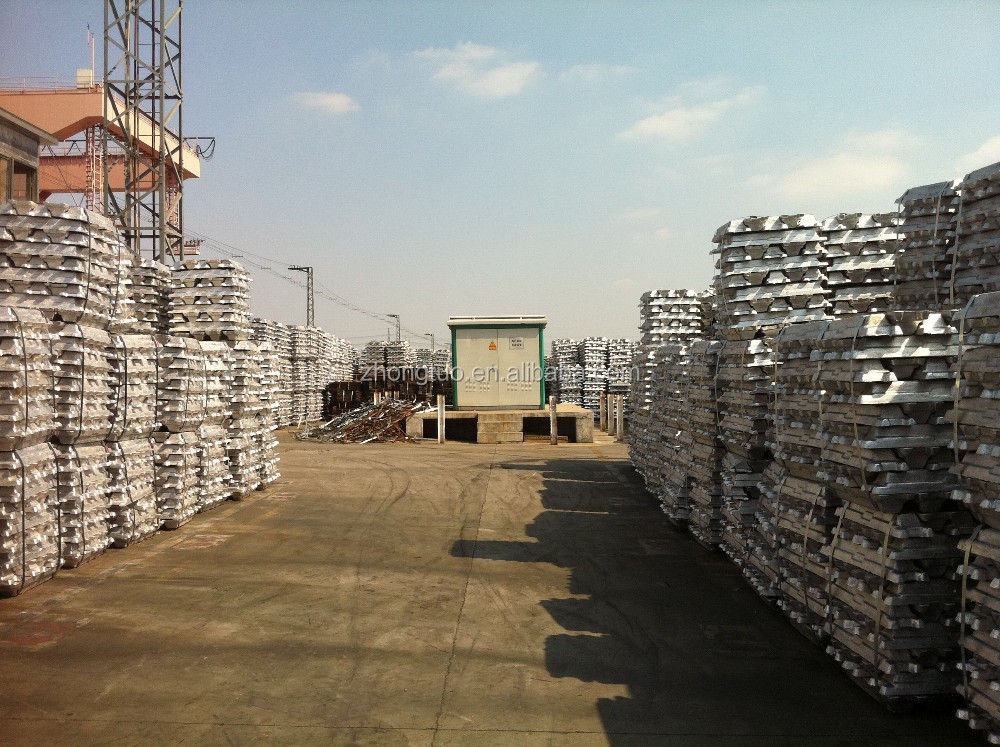 factory directly supply raw metal material pure A7 aluminum ingot