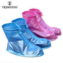 China wholesale rain boots for Adults waterproof boot cover with Zipper