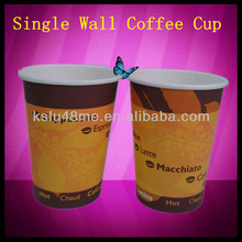 Disposable High Quality Paper Hot & Cold Drink Coffee Cup 2.5, 4, 8, 10 oz