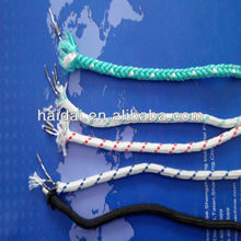 High quality pp pe polyester braided lead rope for sale