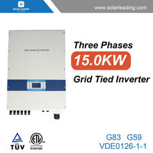 New design 15kw price of inverter batteries connect to mono solar photovoltaic module for on grid solar home system