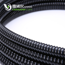"G1 G1-1/4"" G1-1/2"" black Corrugated PVC Coated electrical flexible galvanized pipe"