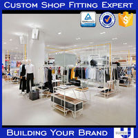portable easy built clothing display fixture standard exhibition booth