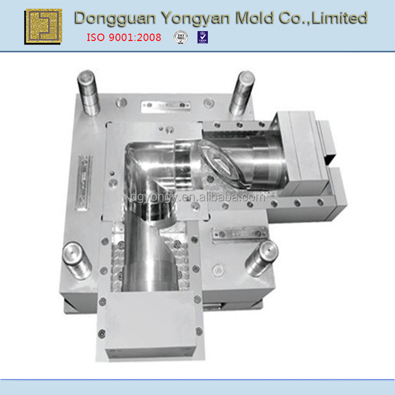 OEM low cost plastic injection pipe fitting mould