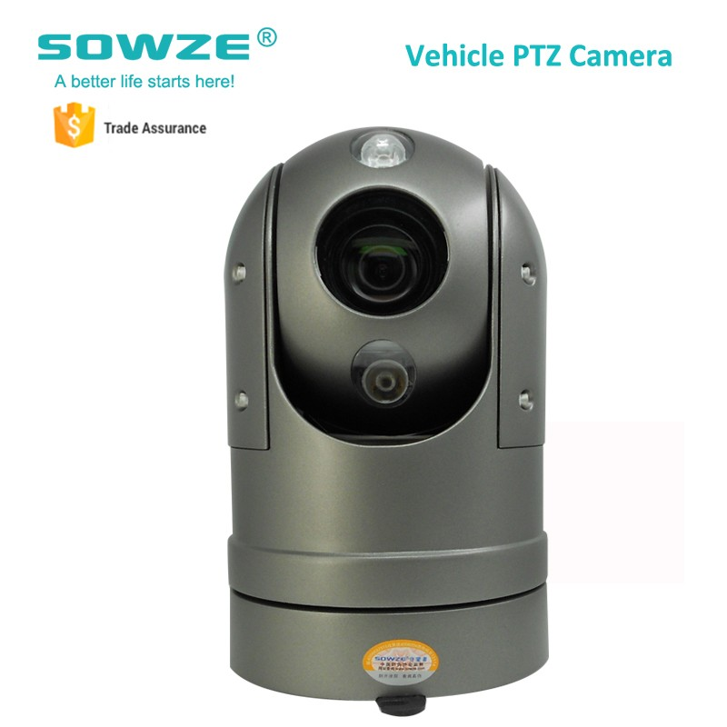 Factory Price Outdoor Motion Tracking PTZ Camera 18x Optical For Highway Road Management Vehicles