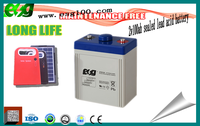 2v 100ah lead acid ups deep cycle rechargeable Agm battery high working voltage battery