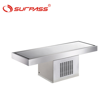 Buffet commercial refrigeration ice cream cold plate freezer plate