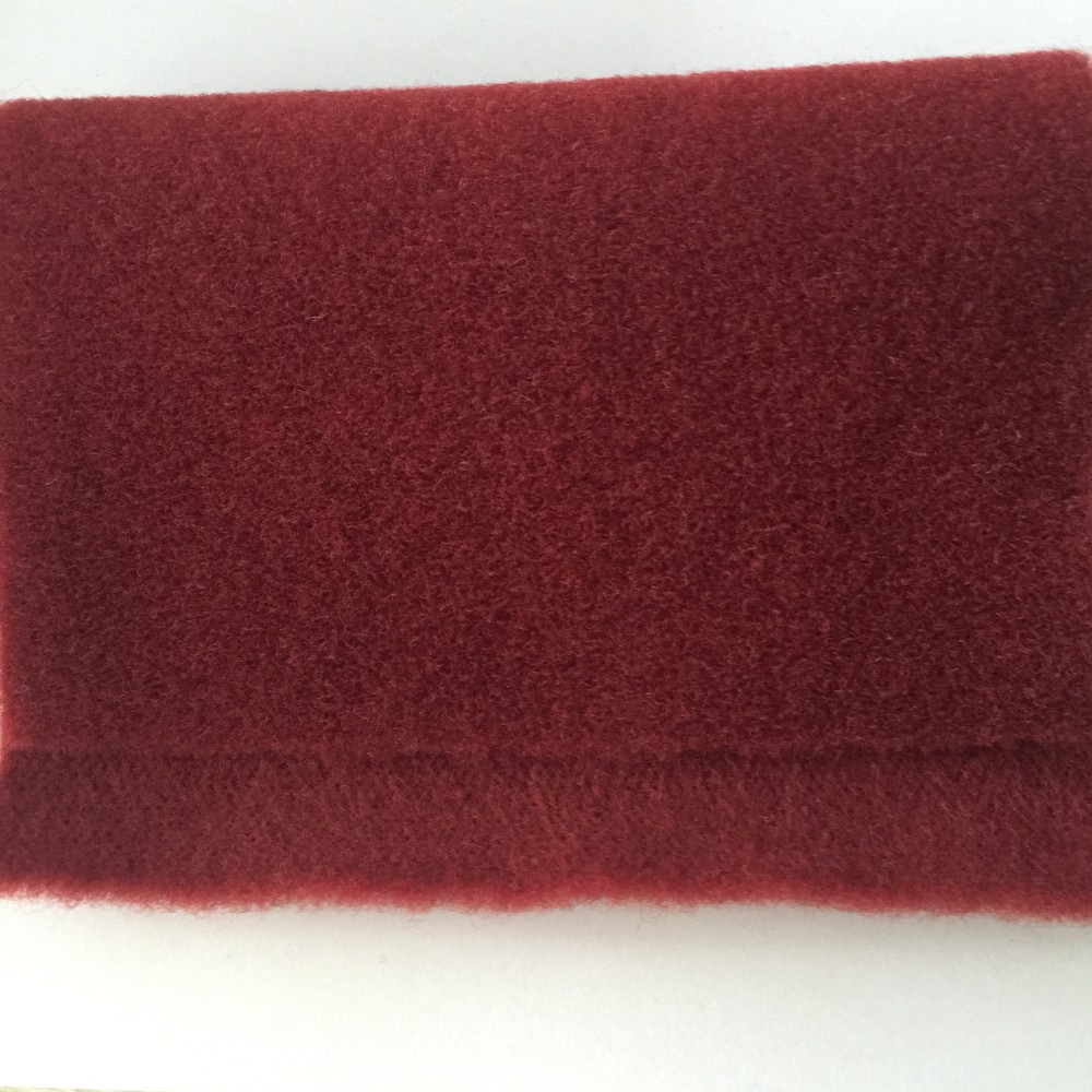 nonwoven technics felt/flocking fabric for shoes material