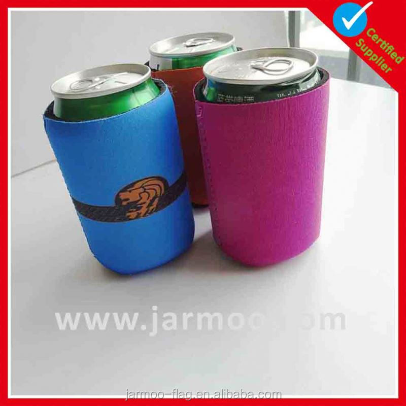 Sublimation advertising neoprene cola bottle cooler