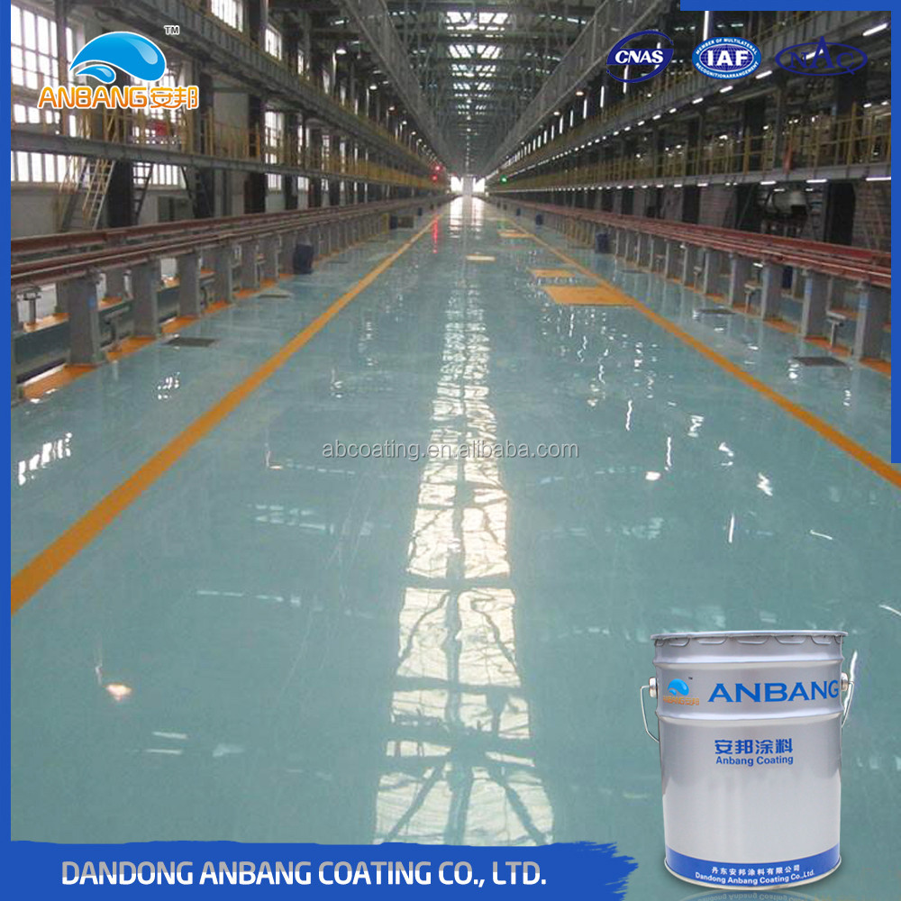 Warehouse water proofing anti slip epoxy floor sealant primer coating
