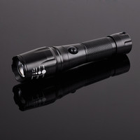 Safety high power zoomable ultrafire waterproof 10watt cree xm-l t6 fishing aluminum cheap tactical led flashlight torch light