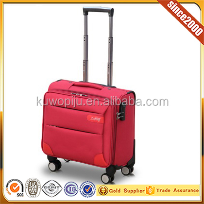 16'' wheeled flight carry on 4 wheel cabin size trolley bag