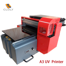 Cheap digital uv a3 printer for flat surface items printing