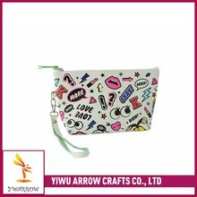New arrival comfortable design good offer cosmetic bag with clear compartment