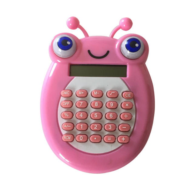 Cute Animal Shaped 8 digits Calculator with Shiny Eyes