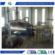 EU Standard Environment Friendly Integrated Waste Tire Recycling Equipment