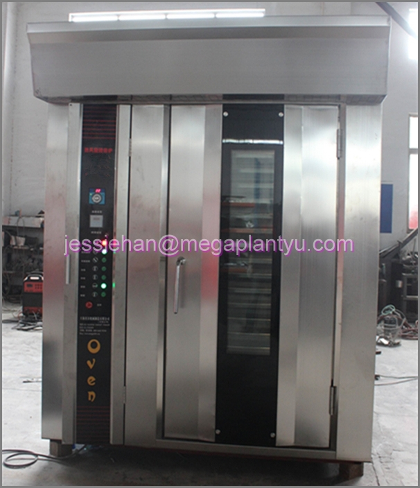Factory supply Stainless steel bread rotary oven for sale