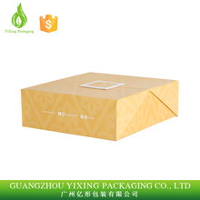 YiXing Custom design special cardboard paper chocolate box with tray insert