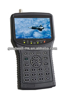 "4.3"" Handheld Digital LCD Satellite Finder with DC 12V Output for Camera"